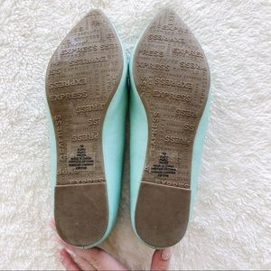 Express Shoes - Express Teal Flats size 10